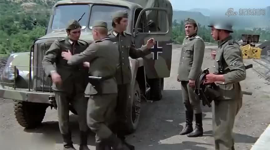 经典再现,南斯拉夫二战电影,瓦尔特三人冒险炸毁德军运油车