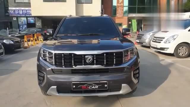 视频:2020款起亚霸锐实车展示,打开车门