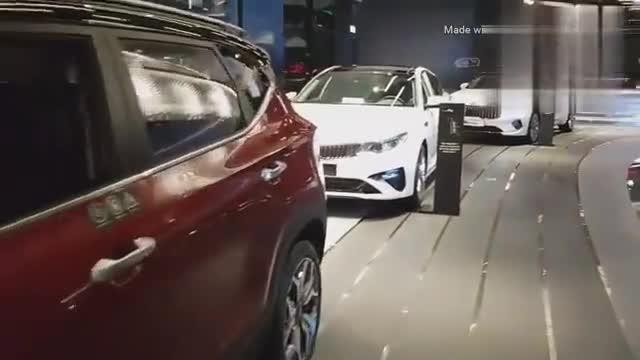 视频:2020款起亚霸锐Mohave亮相,打开第三