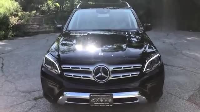 视频:奔驰GLS450高清展示,打开车门看到