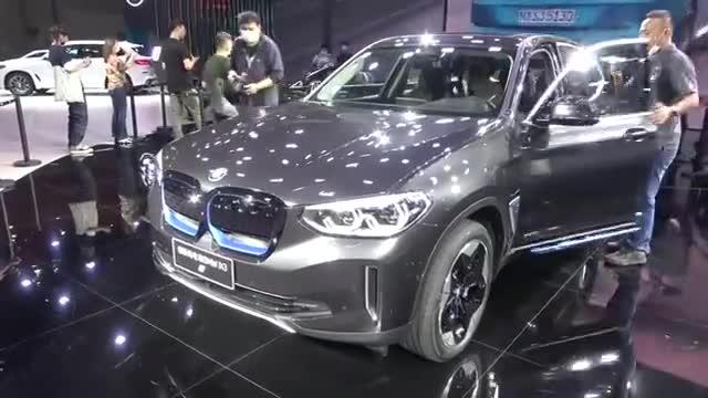 视频:2020广州车展:宝马的第一款国产纯电动SUV,看华晨宝马iX3