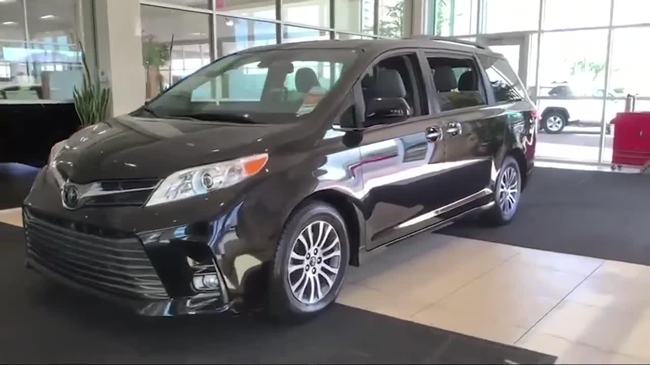视频:预定的2020款丰田塞纳到店,打开车门看到内饰,我放弃了奥德赛