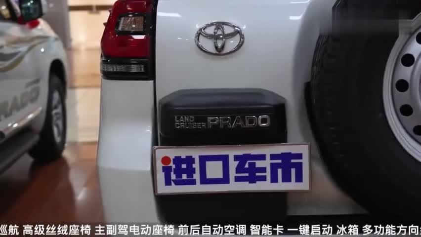 丰田霸道实车展示,除了中控屏别的我都很喜欢