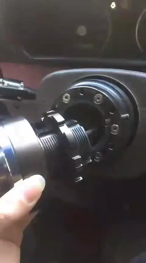视频:浪迪俱乐部车友的快拆方向盘
