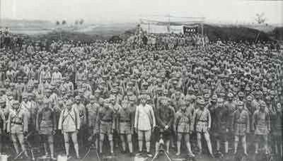 长征中,这支红军队伍的实力最为弱小,但却创造多项长征记录!