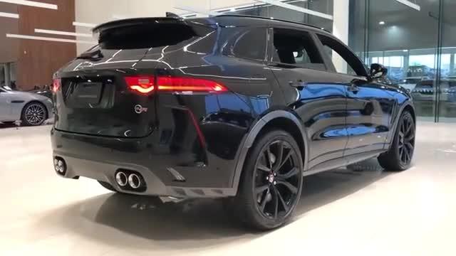 视频:2020款捷豹F-Pace的黑色车身看起来