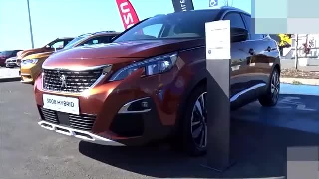 视频:2020标致3008混动GTSUV海外版外观展示