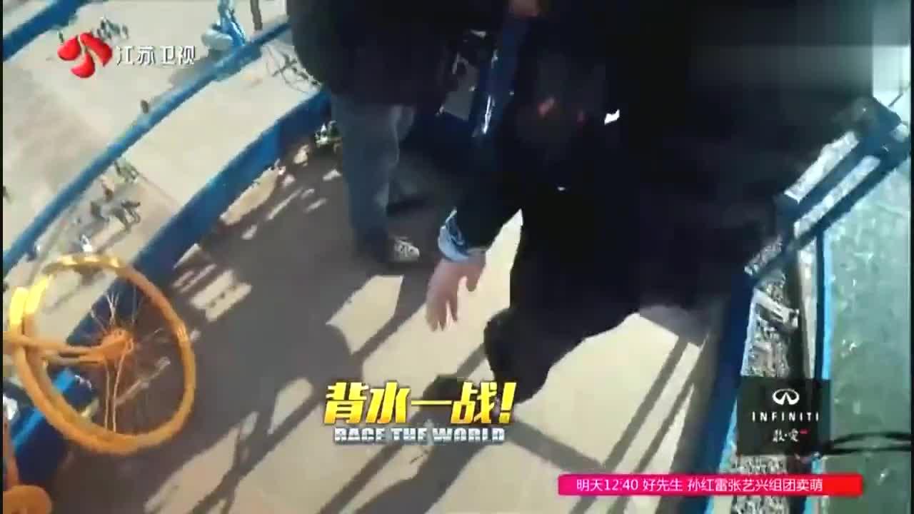 非凡搭档20米高空骑车,唐晓天终于通过,这辆自行车保住了