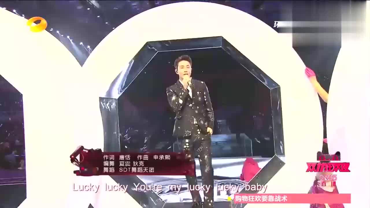 戚薇李承铉再唱《Lucky》,听歌就知道两人多甜蜜,满眼宠爱!
