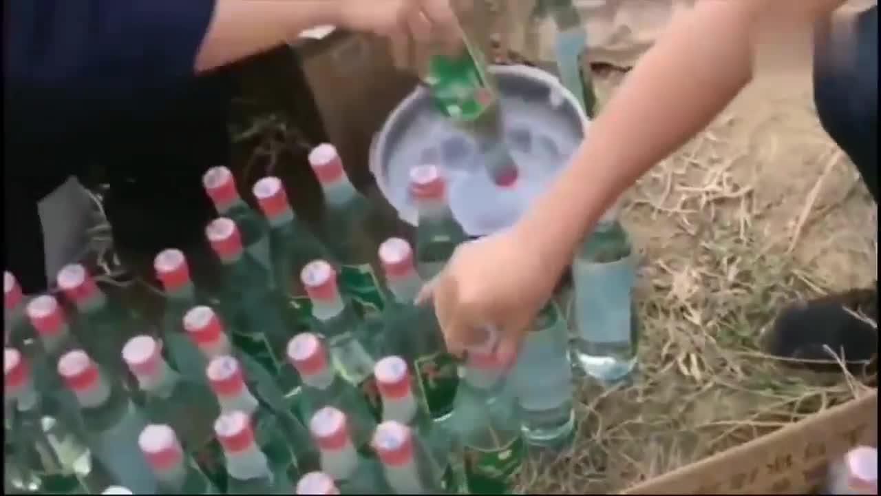 广东老板说:这些酒要等18年后再挖出来,而且还要封好不能有缝隙
