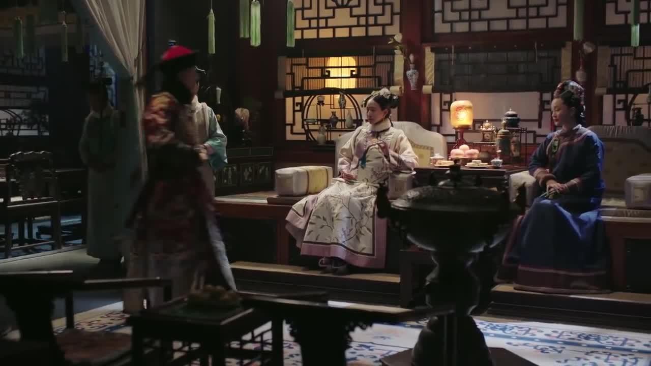 如懿传:皇上把阿箬毒哑了,如懿:那就是再也问不出什么了