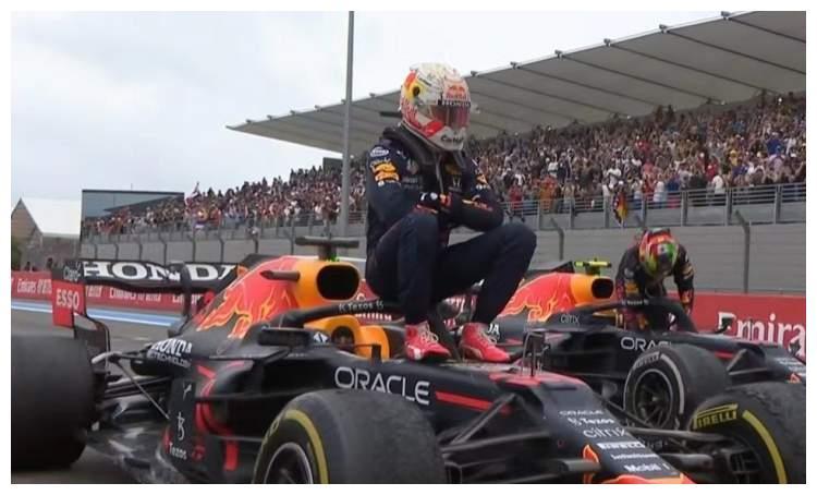 F1法国站维斯塔潘两停策略绝杀汉密尔顿