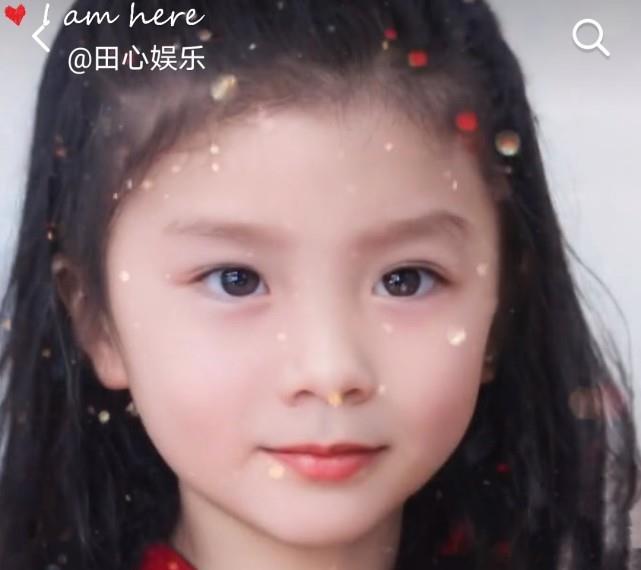 胡可晒三岁照片,网友纷纷直呼:难怪沙溢想要生个女儿!