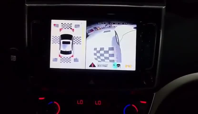 视频:哈弗M6升级360°全景完工。