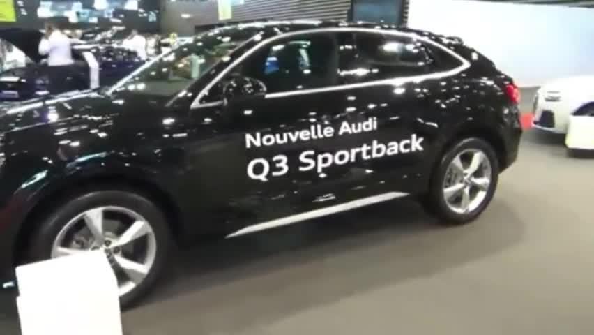 视频:每日一车,动感时尚轿跑SUV,2020奥迪Q3紧凑型SUV