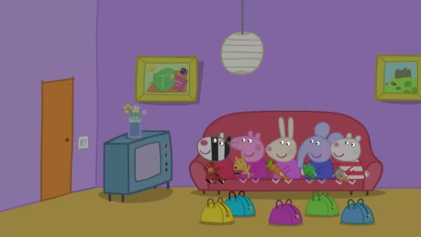 小猪佩奇:斑马双胞胎也想参加派对,一听姐姐不同意,伤心大哭!