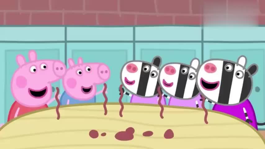 小猪佩奇:斑马妈妈做茶杯,一套茶具只有两个茶杯可不够,还要做