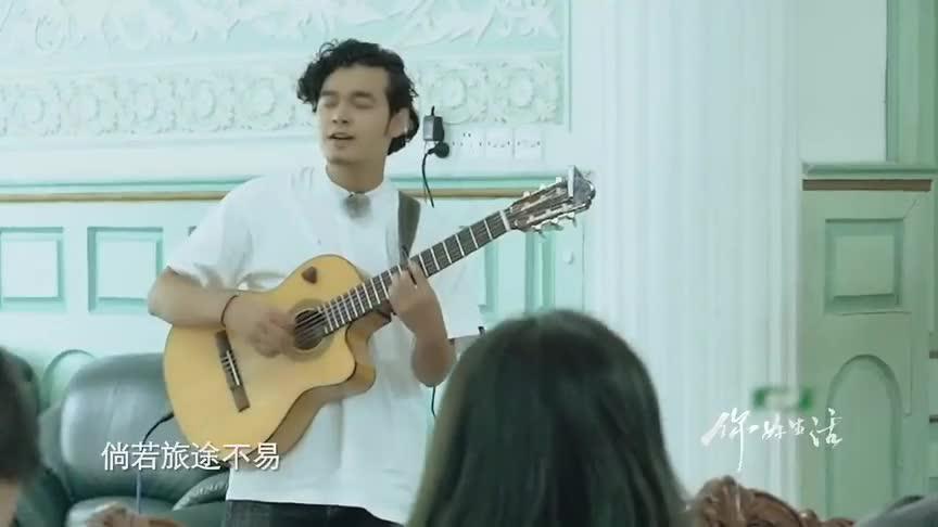 你好生活:新疆小伙邀请沈梦辰跳交谊舞,李亚鹏跳舞像扭秧歌