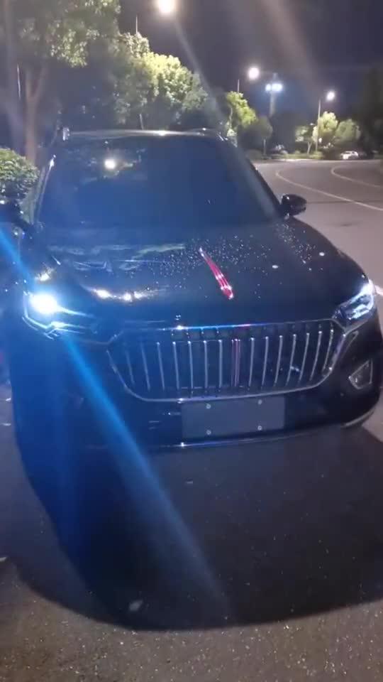 国产豪华SUV代表,红旗HS5,按下解锁键还要啥合资车!