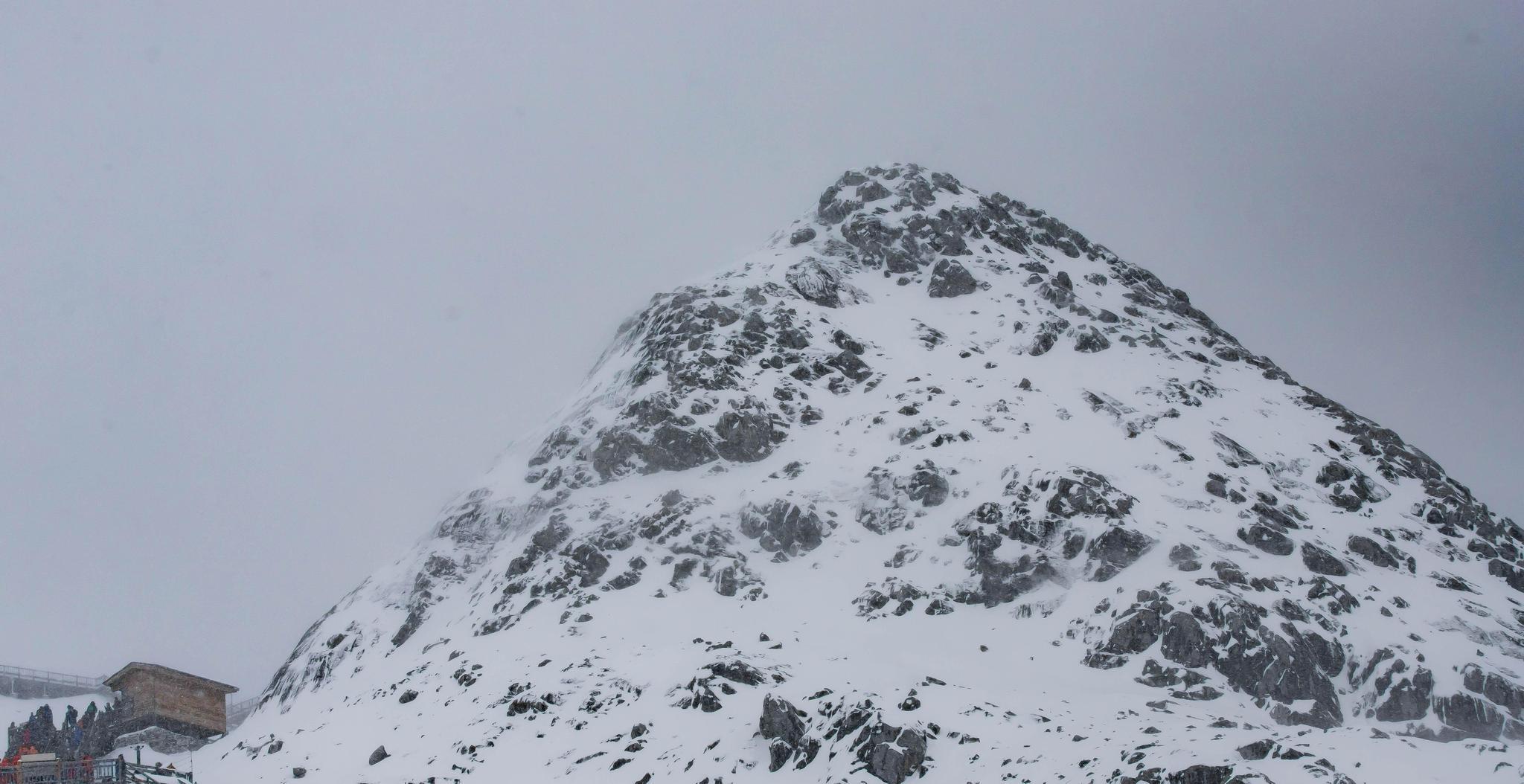 运气不错,我上了玉龙雪山!