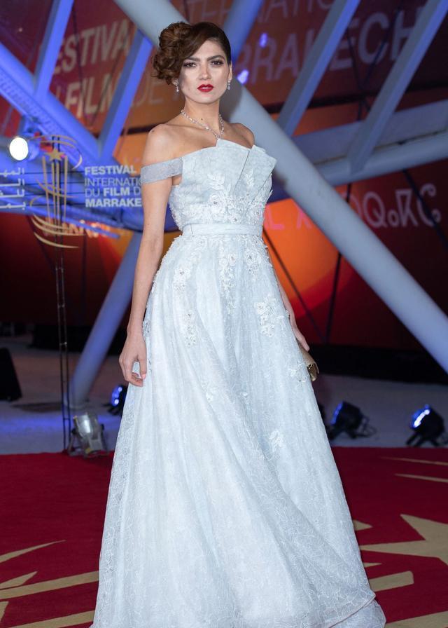 女星布兰卡·布兰科现身马拉喀什电影节,她有着特别的魅力