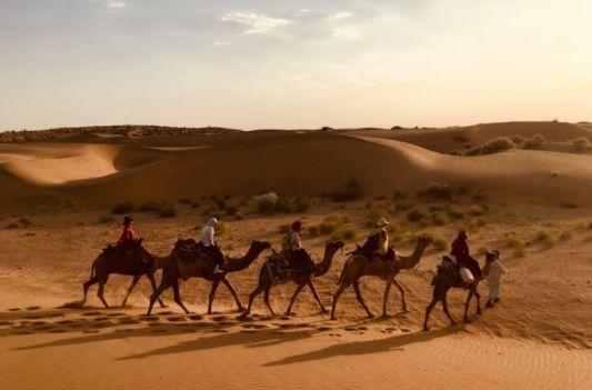 印度真切的人文体验——旅塔尔沙漠2日曬骆驼之旅