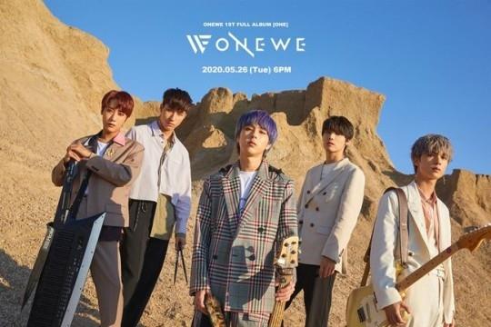 ONEWE首张完整专辑《ONE》团体概念照片第2弹公开