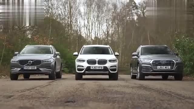 视频:新宝马X3、奥迪Q5、沃尔沃XC60放一