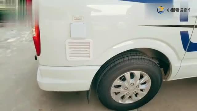 视频:大通V80长轴房车,大气简洁的内饰设计,配色和布局你们喜欢吗?