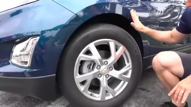 视频:2020款雪佛兰Equinox,车身的特点