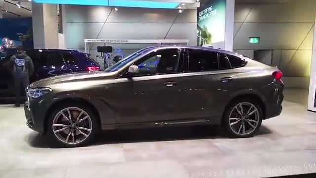 视频:比宝马X5还要霸气威武!2020款宝马X6,这颜值给个不喜欢的理由