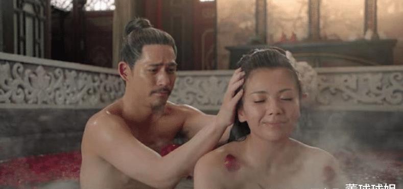 刘涛周渝民鸳鸯浴戏份播出,太让人尴尬