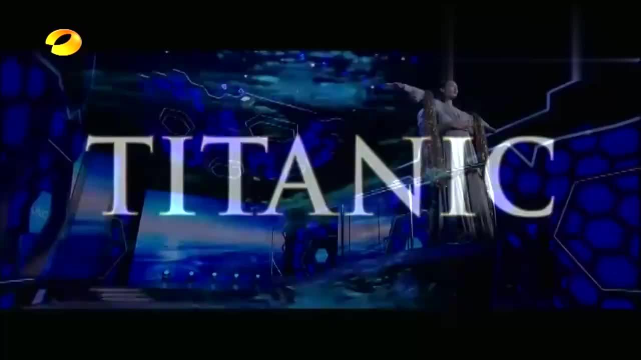 彭于晏白百何另类演绎《泰坦尼克号》,悲剧变喜剧,台下一片笑声