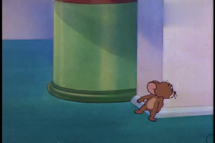 猫和老鼠:杰瑞成了抢手货,两只猫为此大打出手,画面极其残忍