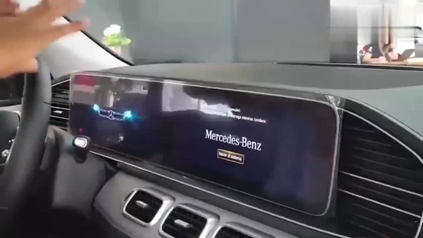 视频:2020款奔驰GLS450登场