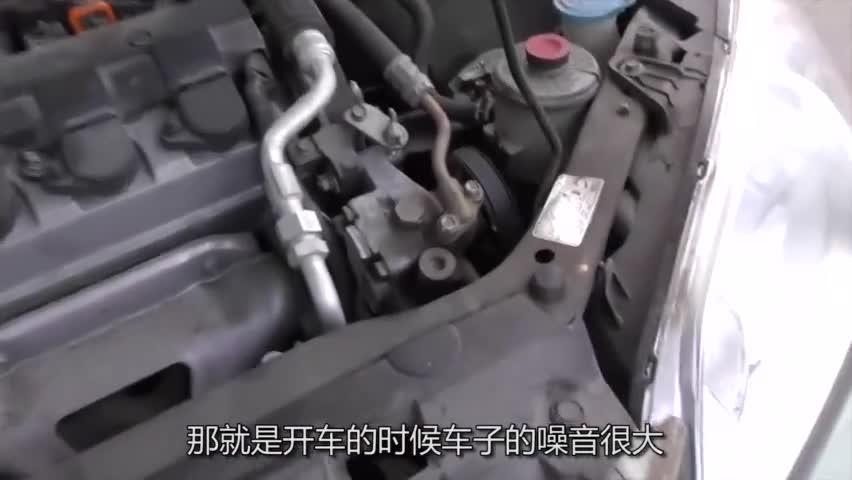 车子在路上噪音大?修车工:只需塞根橡皮筋,车内一下就安静了!