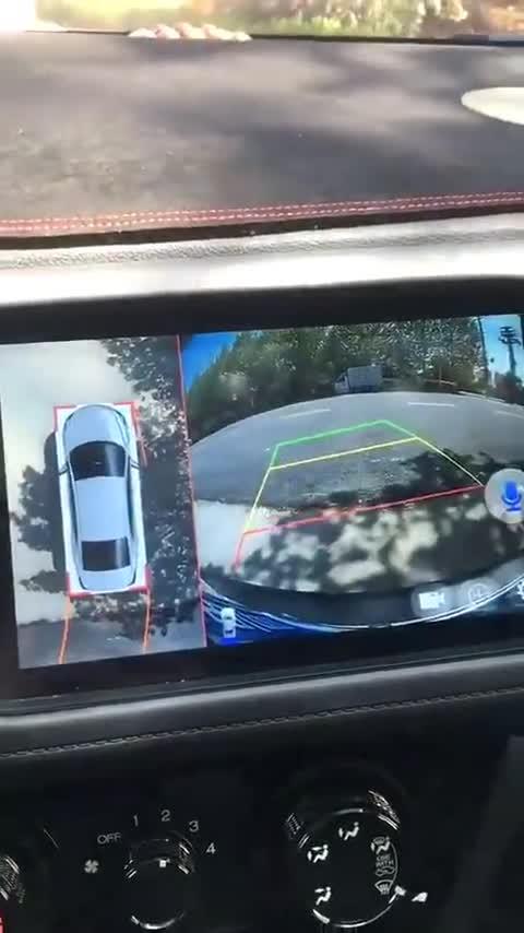 本田XRV升级车视野大屏全景导航