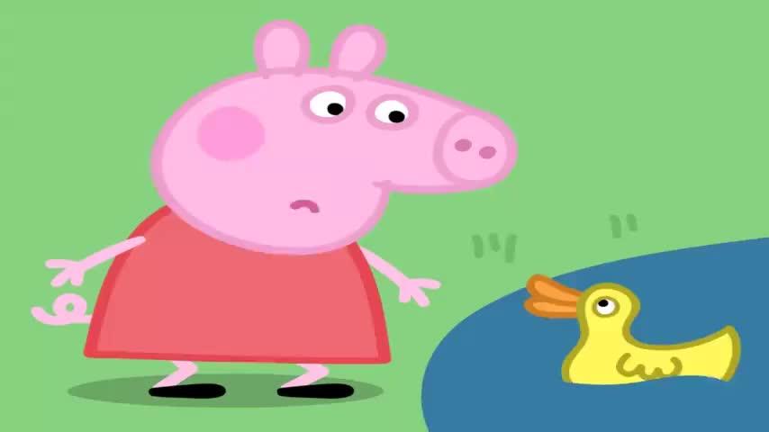 小猪佩奇:草莓蛋糕太美味!连黄蜂都来凑热闹,猪爸爸又被打脸
