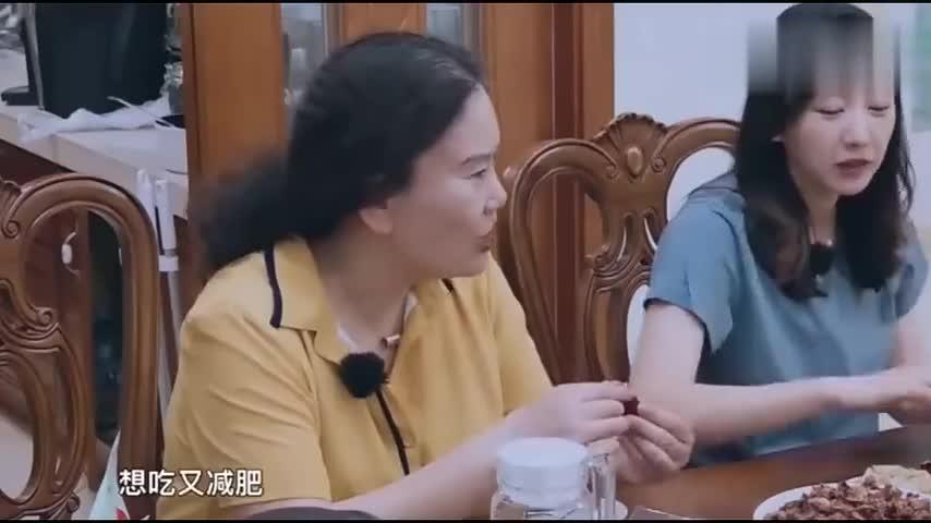 凌潇肃减肥纠结是否吃晚饭,直呼做演员也不容易,岳母表示很理解