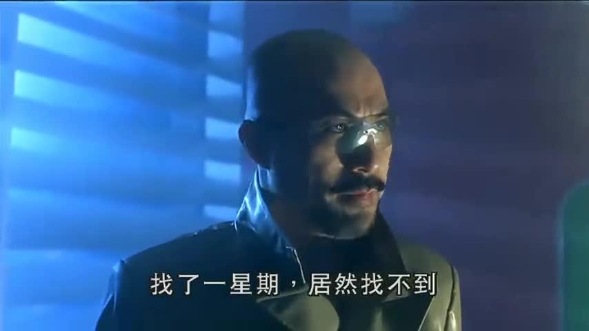 绝种铁金刚:徐锦江饰演反派演技在线,样子凶悍霸气,值得一看!