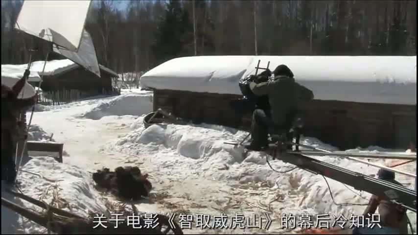 《智取威虎山》幕后:佟丽娅杀青之后才发现,座山雕竟是梁家辉