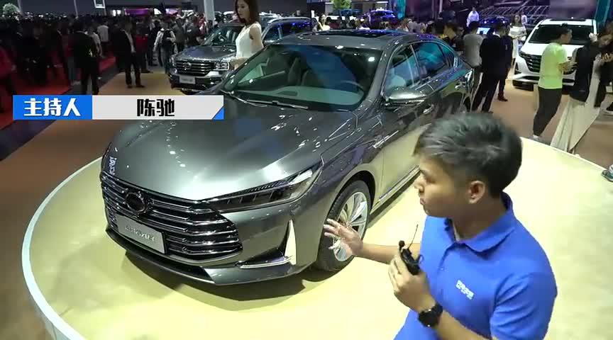 视频:自主新旗舰广州车展聊新款传祺GA8