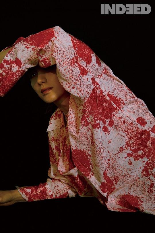 SUPER JUNIOR利特个性十足的写真公开 专业偶像特有的时尚姿态