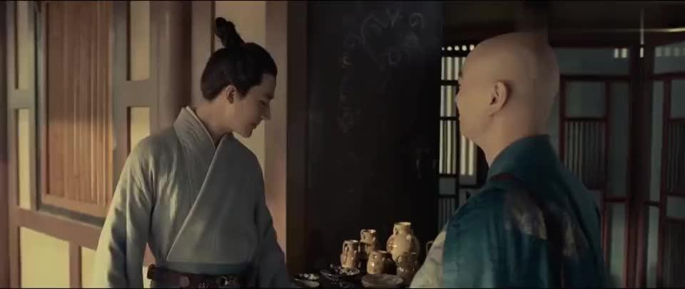 妖猫传:空海闯青龙寺,门却自动打开,原来青龙就是惠果大师