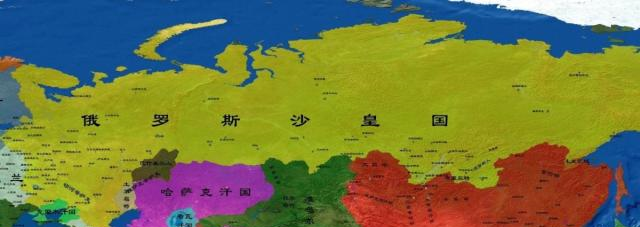 英国称霸海洋,俄国统治陆地,<a href=