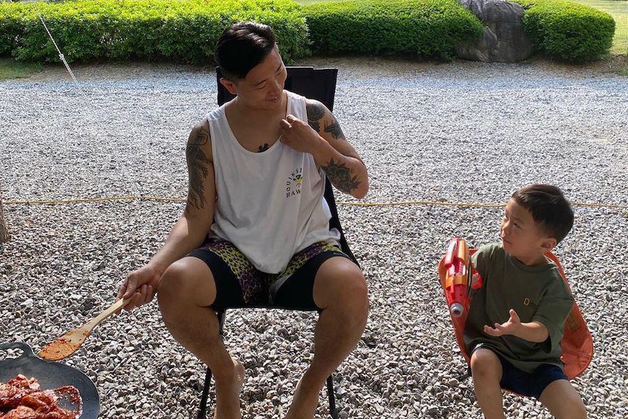 姜gary和姜夏吴去夏日探险 姜Gary分享姜夏吴对他纹身的看法