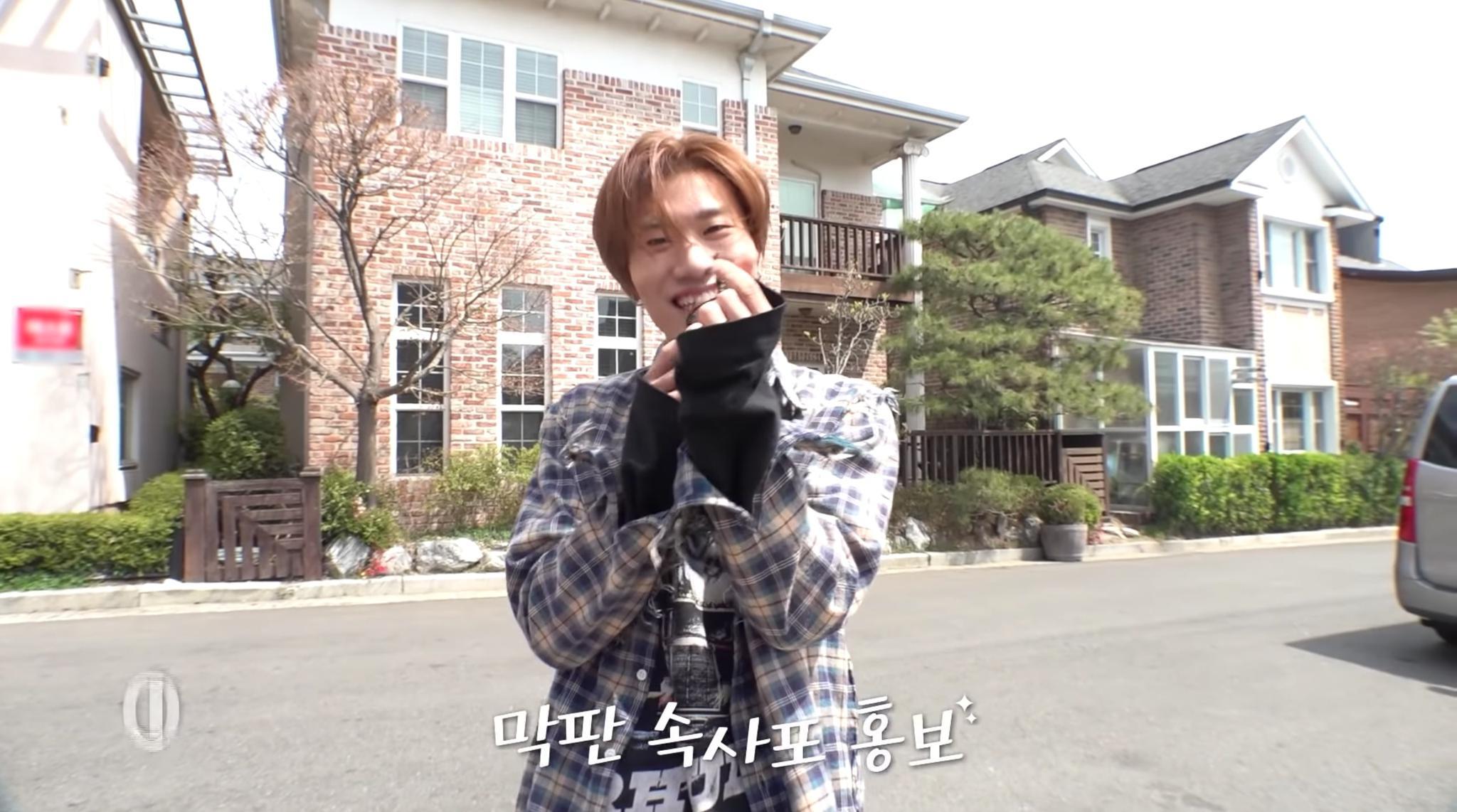 TREASURE在《WAYO》MV拍摄现场探访房艺谈为他加油打气