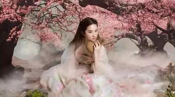 刘亦菲饰演白浅:明明是狐仙,6个造型偏偏扮成了花仙子