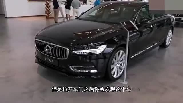 视频:不愧是吉利大老板同款座驾,顶配三座沃尔沃S90极尽奢华