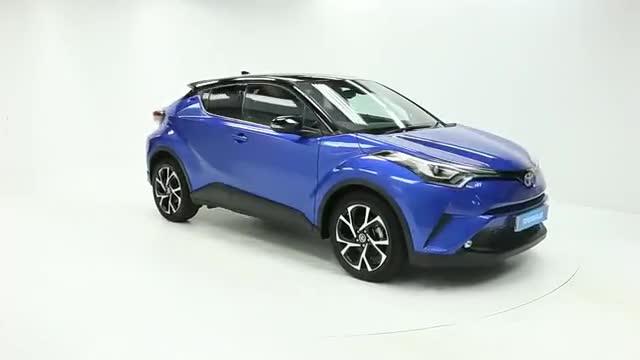 视频:时尚个性小型SUV颜值对决,丰田C-HRV